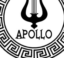 Percy Jackson - Camp Half-Blood - Cabin Seven - Apollo Sticker