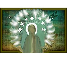 Holy Mary Mother Of God Photographic Print