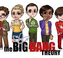 Big Bang Theory by elliem-