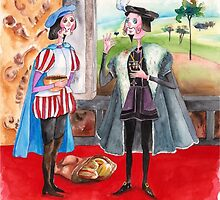 3-Cortes and King Charles of Spain by IsabelSalvador
