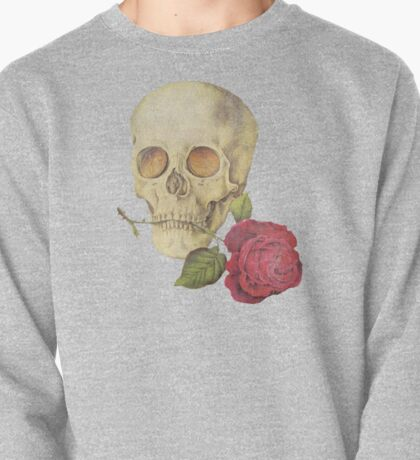 Skull with Rose (Goldfinger) Pullover