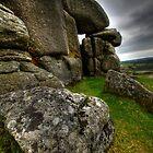Granite Boulders - Helman Tor by Caroline Bland