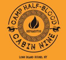 Percy Jackson - Camp Half-Blood - Cabin Nine - Hephaestus by gingerbun