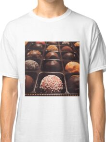 Chocolate Truffles Photo Classic T-Shirt
