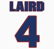National baseball player Brandon Laird jersey 4 by imsport