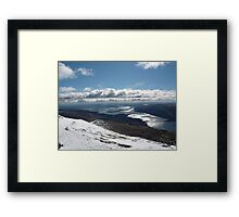 Loch Lomond from Ben Lomond Framed Print