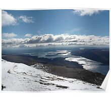 Loch Lomond from Ben Lomond Poster