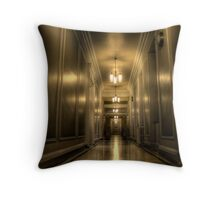 The Corridor Throw Pillow