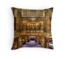 The Chamber Throw Pillow