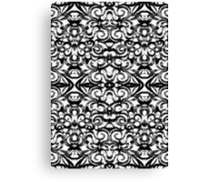 Floral abstract background Canvas Print