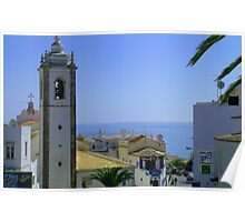 Albufeira Bell Tower Poster