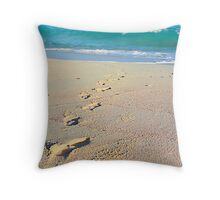 Follow Me to the Sea Throw Pillow