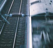 Slow Train to Dawn Sticker