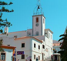 Albufeira Clock Tower by Tom Gomez