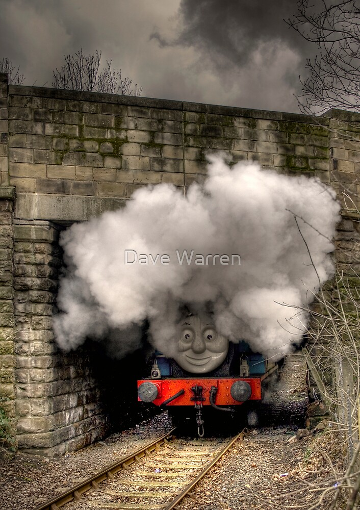 Thomas Under The Bridge by Dave Warren
