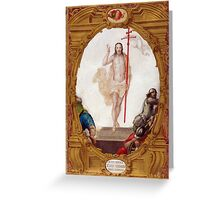 Resurrection of Jesus Christ Greeting Card