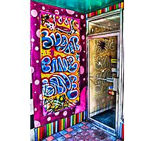 Bubblegum Graffiti Photographic Print