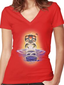A Reddit Fable Women's Fitted V-Neck T-Shirt