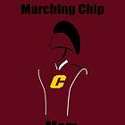 Marching Chip Mom by wersderf