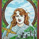 Saint Brigid of Kildare by Alice McMahon