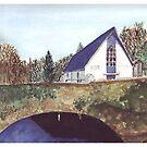 Glendine Church  Co. cork Ireland by Mary Lee Bronze