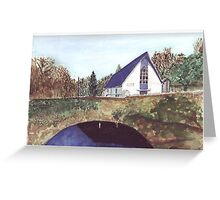 Glendine Church  Co. cork Ireland Greeting Card