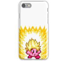 Pixel Super Saiyan Kirby iPhone Case/Skin