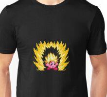 Pixel Super Saiyan Kirby Unisex T-Shirt