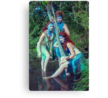 Sirena - The Sirens IV Canvas Print