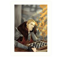 Commander Charming Art Print