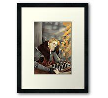 Commander Charming Framed Print