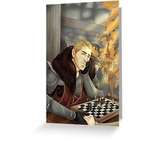 Commander Charming Greeting Card
