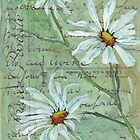 Daisies Postcard 3 by Maree  Clarkson