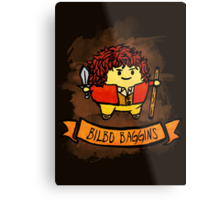 Bouncy Bilbo Metal Print