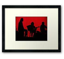 Andrej Vujicic (Puerto Flamenco), Richard Tedesco & Manolo Jaen (Arte Kanela) Framed Print