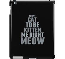 Are You Talkin To Me? iPad Case/Skin