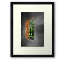 Reality? Framed Print