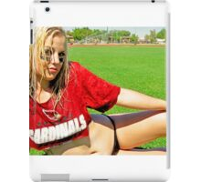 Sideline Timeout iPad Case/Skin