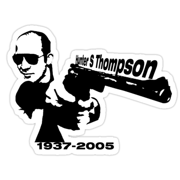 Hunter S Thompson by rigg