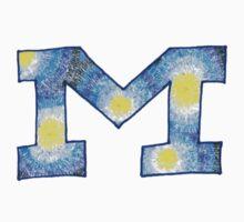 """Tie Dye """"M"""" by emmytyga"""