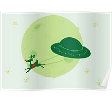 Sci-Fy Santa Card/Print Poster