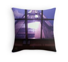 Above, from below Throw Pillow