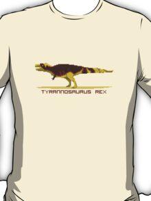 Pixel Tyrannosaurus T-Shirt