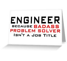 Engineer Greeting Card