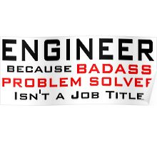 Engineer Poster