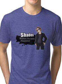 Shades Joins The Battle! Tri-blend T-Shirt