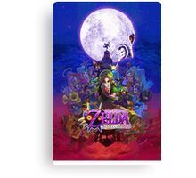 Majora's Mask 3d Canvas Print