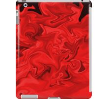 Red Flames iPad Case/Skin