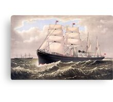 Steamships Canvas Print