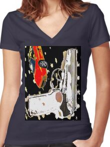 toys Women's Fitted V-Neck T-Shirt